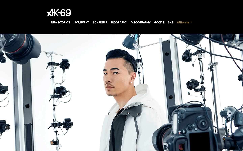 AK-69オフィシャルサイト