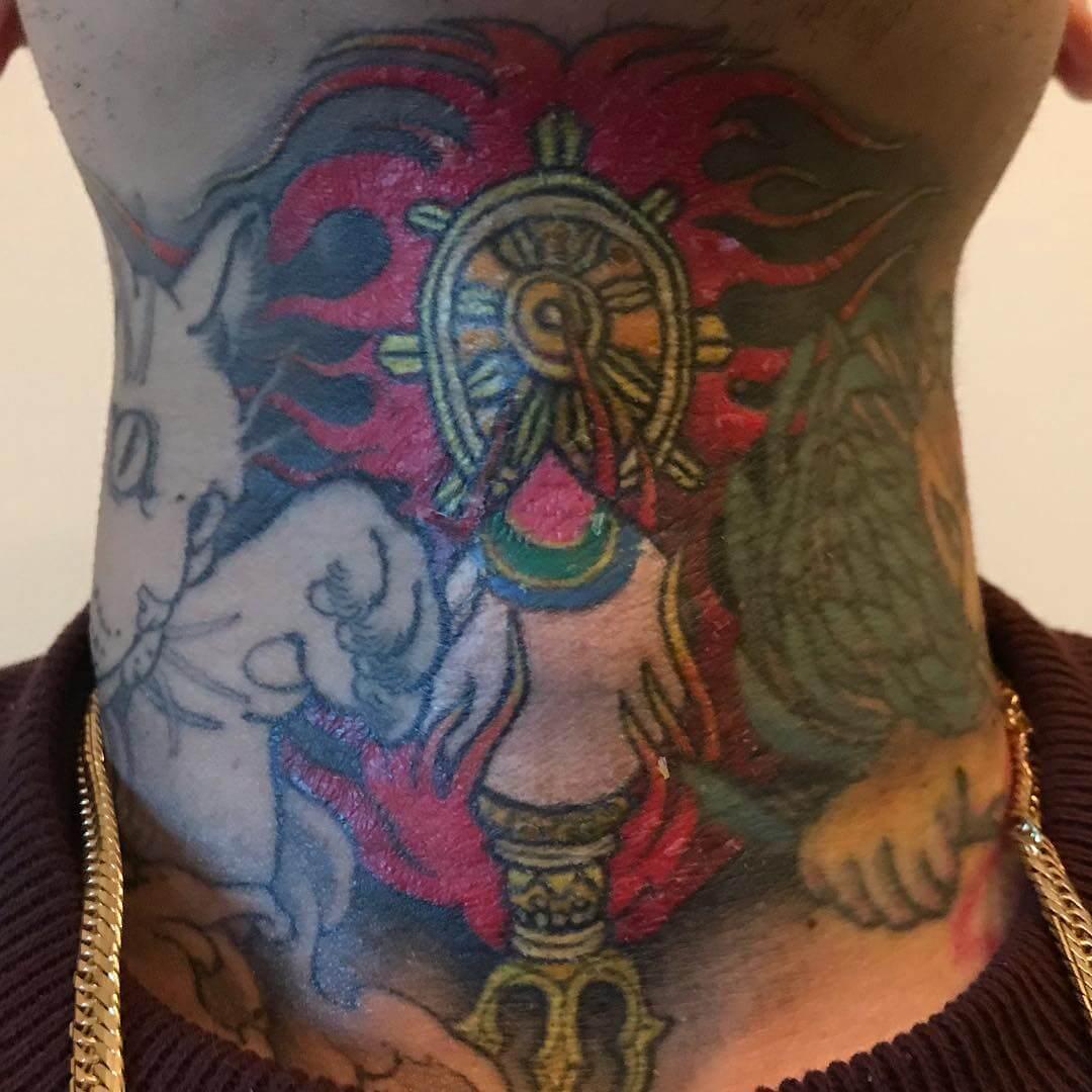 DELTA9KID(デルタ9キッド)の刺青(タトゥー)